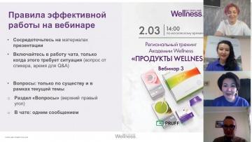 """ТРЕНИНГ """"ПРОДУКТЫ WELLNESS"""" АКАДЕМИИ WELLNESS, 3 вебинар (2.03.21)"""