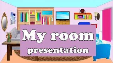 My room. Моя комната. Уроки английского.