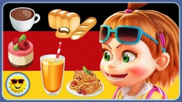 Немецкий для детей. Учим слова - Eда и напитки. Уроки немецкого языка с ТикТик