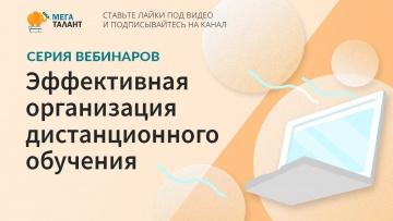 Серия вебинаров «Эффективная организация дистанционного обучения» (1 день)